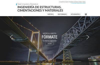 diseño web máster universitario