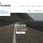 diseño web universidad politécnica de madrid