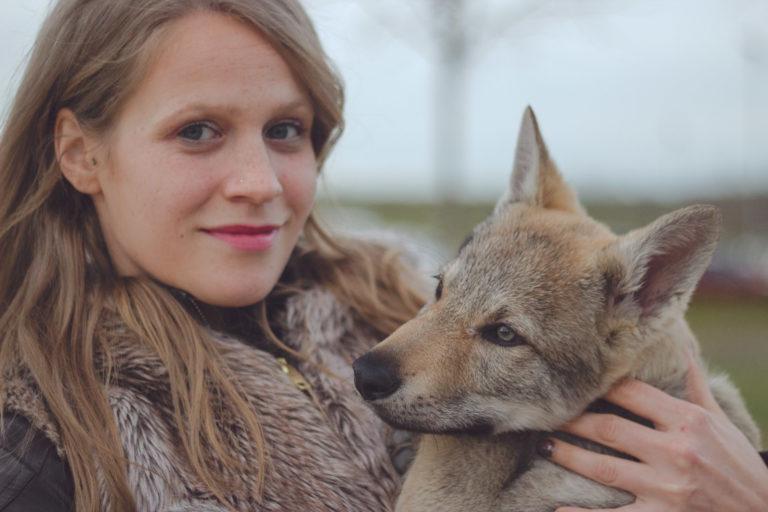 reportaje fotográfico mascotas wolfy