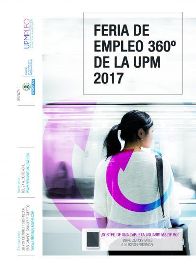 diseño editorial revista feria de empleo 360