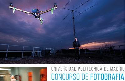 diseño gráfico de cartel concurso de fotografía #fototechUPM